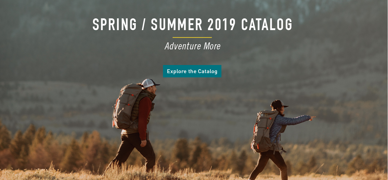 Sierra Designs Spring 2019 Catalog
